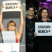 Mariana Ximenes e Debora Bloch aderem a protesto contra censura: 'Resistir'