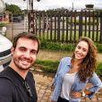 Max Fercondini revelou  o fim de seu relacionamento de nove anos com  Amanda Richter no Instagram