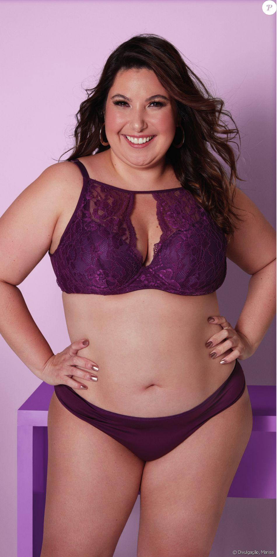 Mariana Xavier gosta de alternar lingeries confortáveis e sexy: ' Eu sou muito do conforto no dia-a-dia mas eu gosto das coisas bonitas também'