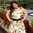 'Eu mesma acho horroroso calçola bege, mas ela é uma mal necessário', afirmou a atriz  Mariana Xavier