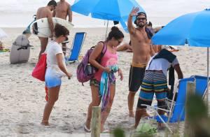 Paulinho Vilhena e Fabíula Nascimento são vistos novamente juntos no Rio