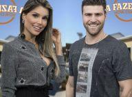 'A Fazenda': Flávia e Marcelo Ié Ié oficializam romance após beijo em festa