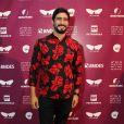 Renato Góes prestigiou a exibição do filme 'Anjos da Lapa' no Festival do Rio na noite de sexta-feira, 7 de outubro de 2017