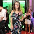 Klara Castanho prestigiou a exibição do filme 'Anjos da Lapa' no Festival do Rio na noite de sexta-feira, 7 de outubro de 2017