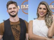 'A Fazenda': Marcos Härter agita edredom com Ana Paula Minerato após festa