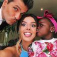 Bruno Gagliasso compartilhou uma foto de Títi com Giovanna Lancellotti