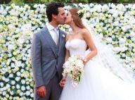 Casamento de Marina Ruy Barbosa teve bolo de nozes e louça especial. Detalhes!
