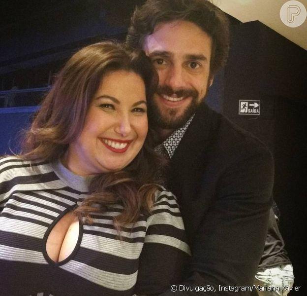 Mariana Xavier mostra par romântico em 'A Força do Querer' em foto nesta terça-feira, dia 10 de outubro de 2017