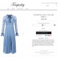 Vestido usado por Kate Middleton em evento da família real é da grife Temperley e pode ser comprado por R$ 2.239 no site da marca