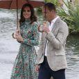 Última aparição de Kate Middleton foi no dia 30 de agosto de 2017, quando visitou, acompanhada do marido, Príncipe William, o jardim do palácio Kensington que foi reformado para homenagear a princesa Diana