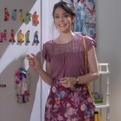 Bia Arantes elege cenas mais emocionantes em 'Carinha de Anjo': 'Chorei muito'
