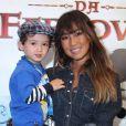 Daniele Suzuki é mãe de Kauai, de 2 anos. O menininho fofo é fruto do casamento da atriz com o empresário Fábio Novaes. 'Depois dele, eu sou uma nova mulher com novos sentimentos e uma nova vida. Com certeza, muito melhor'