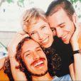 Marília Gabriela é só amor com os filhos Theodoro, de 35 anos, e Christiano Cochrane, de 42, que atualmente participa do 'Aprendiz Celebridades'