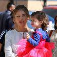 Grazi Massafera é constantemente vista com a filha, Sofia, que completará 2 anos no próximo dia 23. 'Eu adoro a parte da manhã para ficar com ela. Ela acorda bem-humorada, é um momento único'