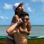 Thomaz Costa, ex de Larissa Manoela, troca beijos com estudante: 'Ficaram'