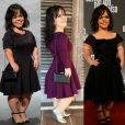Juliana Caldas, atriz de 'O Outro Lado do Paraíso', conta com estilista para desenvolver looks sob medida