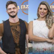 'A Fazenda': Ana Paula, bêbada, agarra Marcos, mas é rejeitada. 'Não quero'