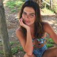 Mariana Goldfarb já dispensou brownie após sessão de fotos na praia