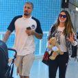 Ex-BBB Fernando Medeiros disse que divide as tarefas com a mulher, Aline Gotschalg