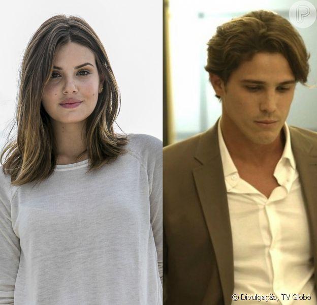 Na novela 'Pega Pega', Eric (Mateus Solano) discute com Luiza (Camila Queiroz) por conta da sua reaproximação com Lourenço (Romulo Neto)