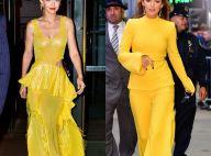 Tendência solar: Gigi Hadid e Blake Lively apostam em looks amarelos. Fotos!