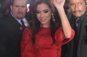 ba57cfd3a Anitta deixa evento de limousine após lançamento de perfume em São Paulo
