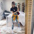 Segundo Isabella Scherer, jeans não pode faltar em seu guarda-roupa