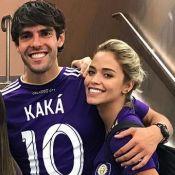 Kaká responde fã sobre casamento com namorada, Carol Dias:'5 anos para resposta'