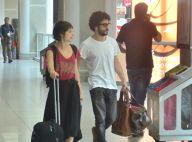Caio Blat e Luisa Arraes são vistos em aeroporto após rumores de namoro. Fotos!