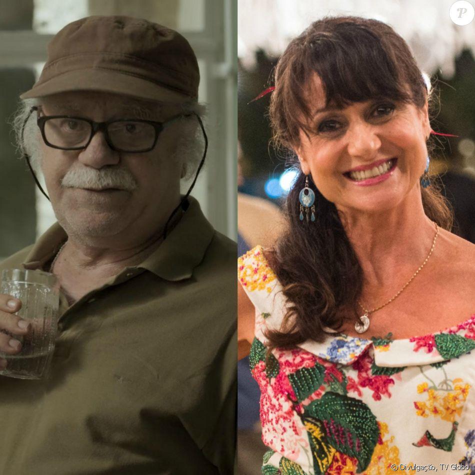 Último capítulo da novela 'A Força do Querer', nesta sexta-feira, 20 de outubro de 2017, tem casamento de Abel (Tonico Pereira) e Edinalva (Zezé Polessa)