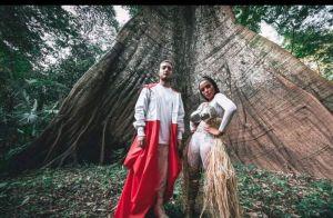 Anitta aparece ao lado do namorado, Thiago Magalhães, em clique raro