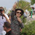 Harry Styles está gravando um making of com os momentos durante a turnê