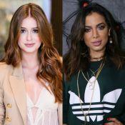 Fãs pedem Marina Ruy Barbosa em novo clipe de Anitta e atriz concorda: 'Quero'