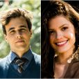 Novela 'Tempo de Amar': a amizade entre Vicente (Bruno Ferrari)   e Maria Vitória (Vitória Strada) deixará a Lucinda (Andreia Horta) em alerta