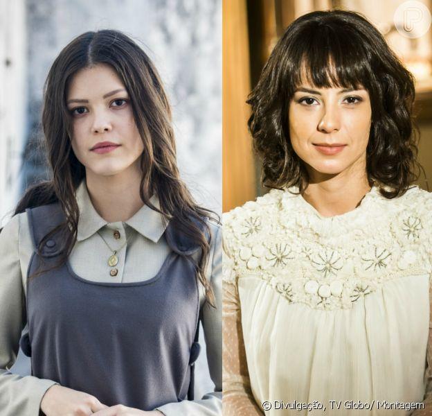 Na novela 'Tempo de Amar', Maria Vitória (Vitória Strada) informará a Lucinda (Andreia Horta) que ficará no Brasil para continuar a busca por Inácio