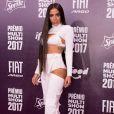 Anitta no Prêmio Multishow, realizado no Rio de Janeiro nesta terça-feira, 24 de outubro de 2017