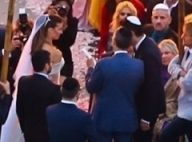 Veja fotos do casamento de Guy e Michelle Alves; noiva usou vestido de R$320 mil