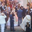 A união foi celebrada por Eitan Yardeni, professor de Kaballah de Madonna