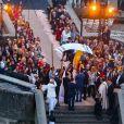 O casamento de Michelle Alves e Guy Oseary contou com a presença de famosos