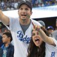 Mila Kunis e Ashton Kutcher são pais de Wyatt, de 3 anos, e Dimitri, de 1