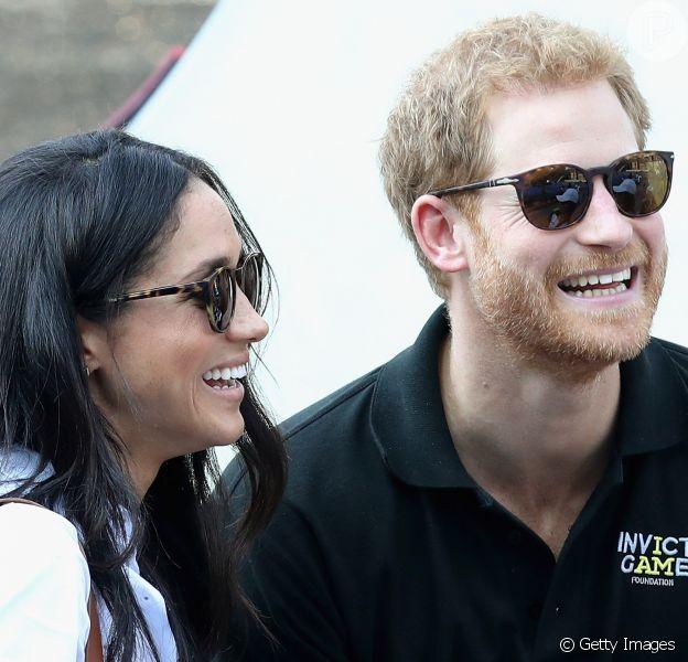 A revista 'OK Magazine' disse que Meghan Markle pode estar grávida do namorado, Harry