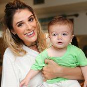 Rafa Brites explica boa forma após filho, Rocco, nascer: 'Genética e kombucha'
