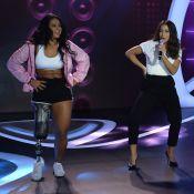 Anitta canta no Teleton com atleta paralímpica e jovem com Down: 'Balé incrível'