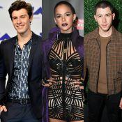 Bruna Marquezine, com look ousado, ganha curtida de Shawn Mendes e Nick Jonas