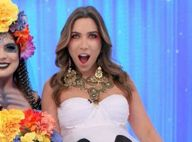Patricia Abravanel, grávida, se fantasia para Halloween de Silvio Santos: 'Boo'