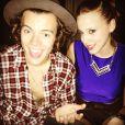 A atriz Marcella Rica tieta Harry Styles em festinha privada depois do show do One Direction