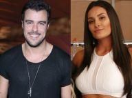Joaquim Lopes deixa show acompanhado da dançarina do 'Faustão' Yanca Guimarães
