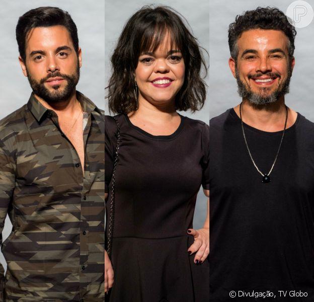Estela (Juliana Caldas) terá um romance com Amaro (Pedro Carvalho) e Juvenal (Anderson Di Rizzi) na novela 'O Outro Lado do Paraíso'