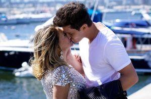 Susana Vieira compartilha cena de filme com Klebber Toledo: 'Beijando muito'