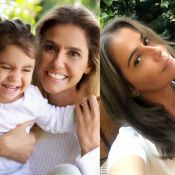 Deborah Secco muda cor de cabelo e é comparada à filha, Maria Flor: 'Idênticas'